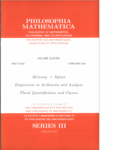 Philosophia Mathematica