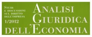 Analisi giuridica dell'economia 1/2012