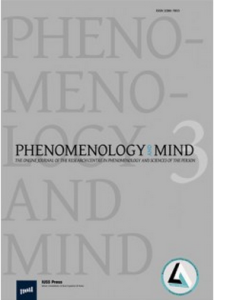 Phenomenology and mind